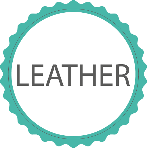 Made in leather
